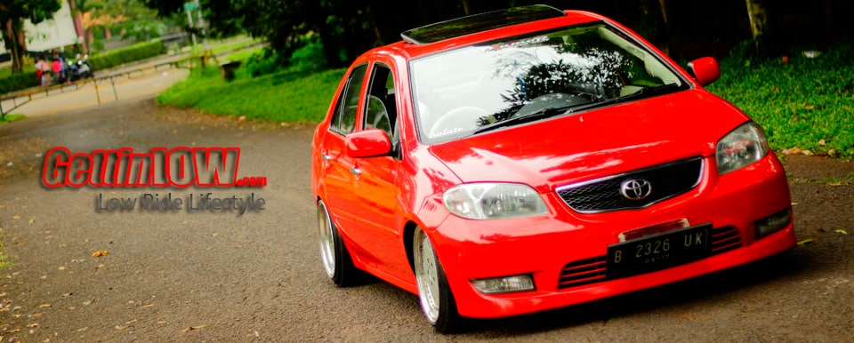 Lowered Red: Toyota Vios G 2004
