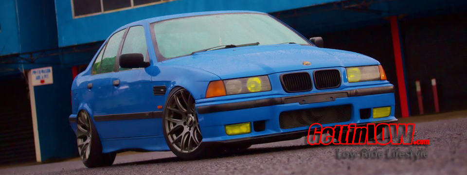 Smurf in Action: BMW E36 323i