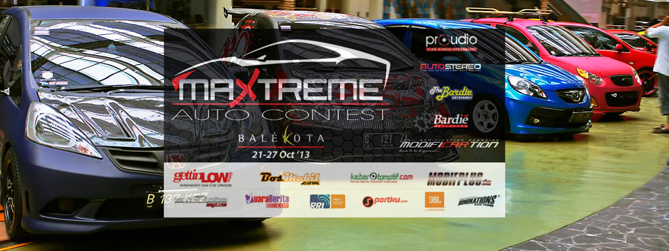 Souvenir From MAXTREME Auto Contest 2013