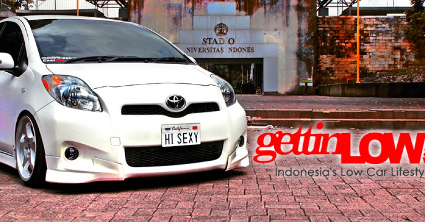Modifikasi Toyota Yaris Gettinlow