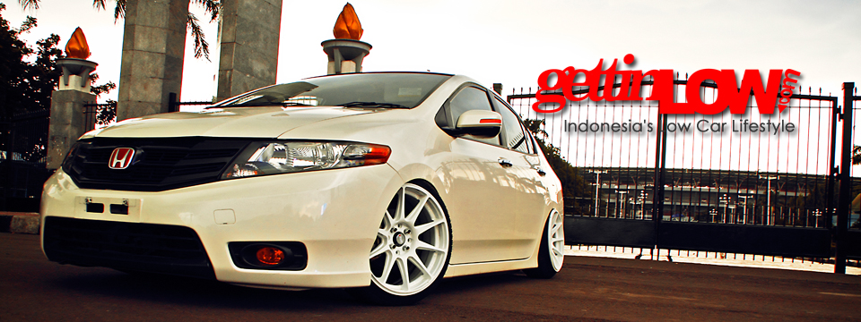 Juliasco Defan's 2013 White Honda City