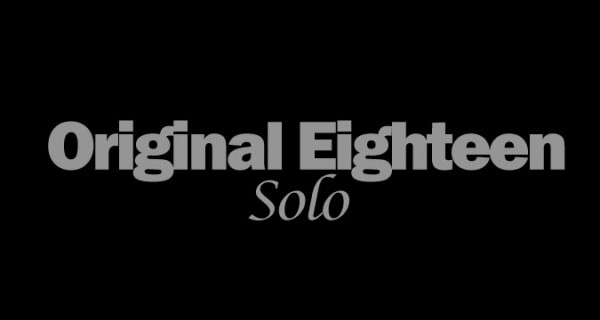 original eighteen solo