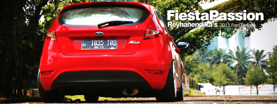 Reyhan's Red Ford Fiesta