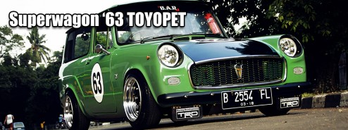 Superwagon Toyota Toyopet 1963