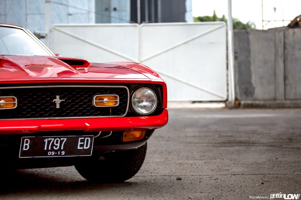 1972 Ford Mustang Mach-1