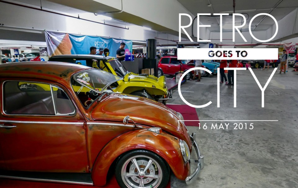 RETRO GOES TO CITY