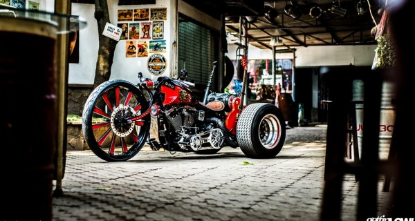 Bingky's New Rock Trike: 1994 Harley Davidson Fat Boy based
