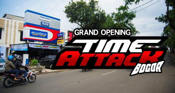 Re-Launching: Time Attack Wheels Store Bogor