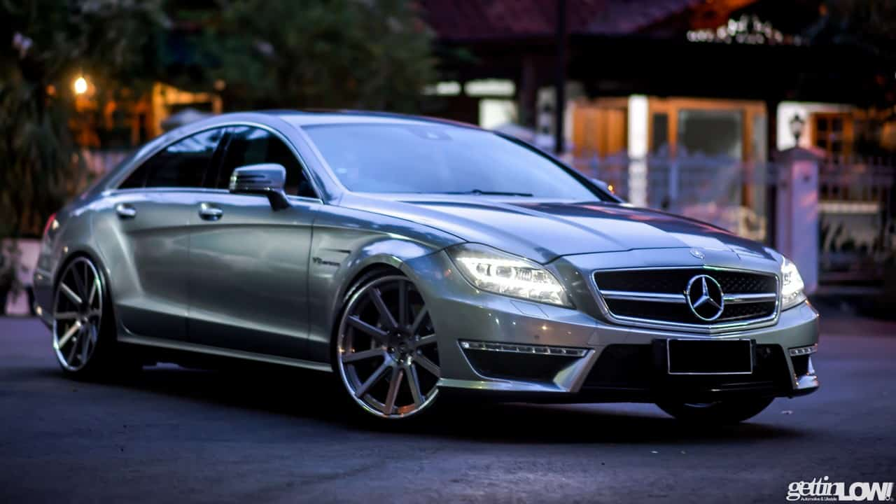 Mr. Bowo's Mercedes Benz CLS63-AMG