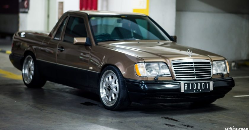 Indra Sukarno: 1989 Mercedes Benz W124-300E Pick Up