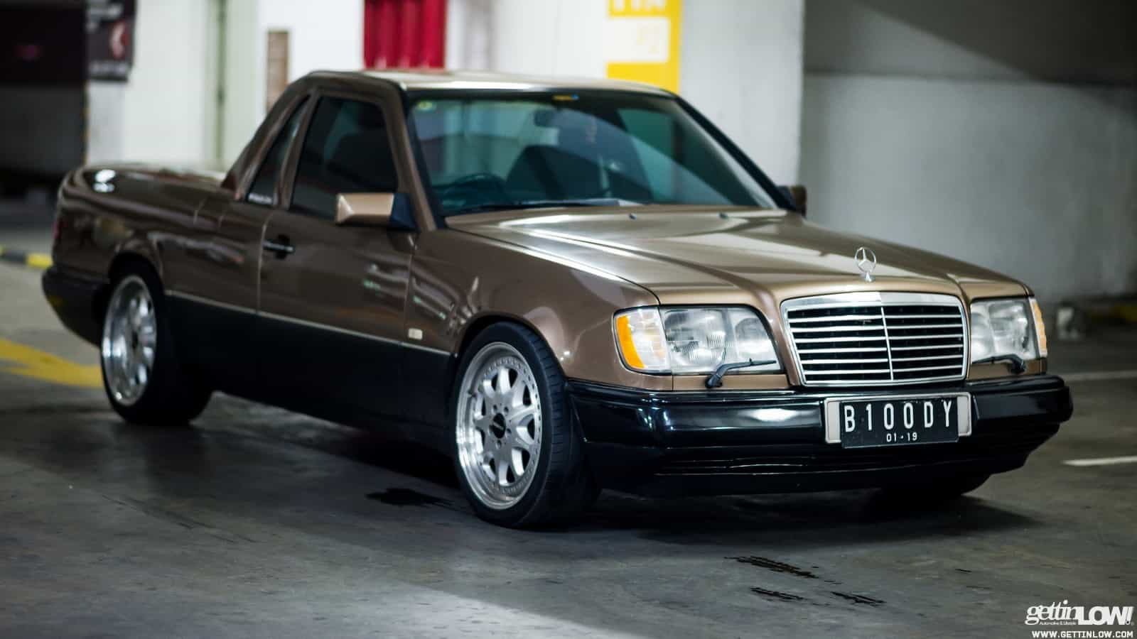 Gettinlow indra sukarno 1989 mercedes benz w124 300e for Pick up mercedes benz