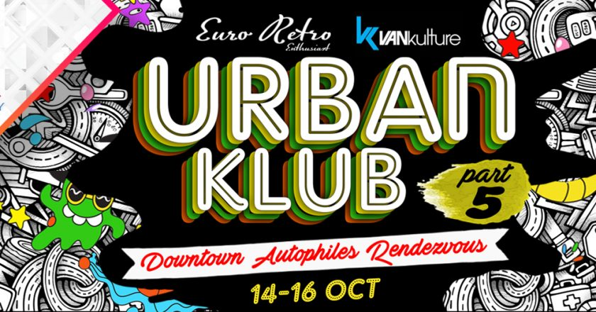 Press Release: URBAN CLUB part.5, Downtown Autophile Rendezvous