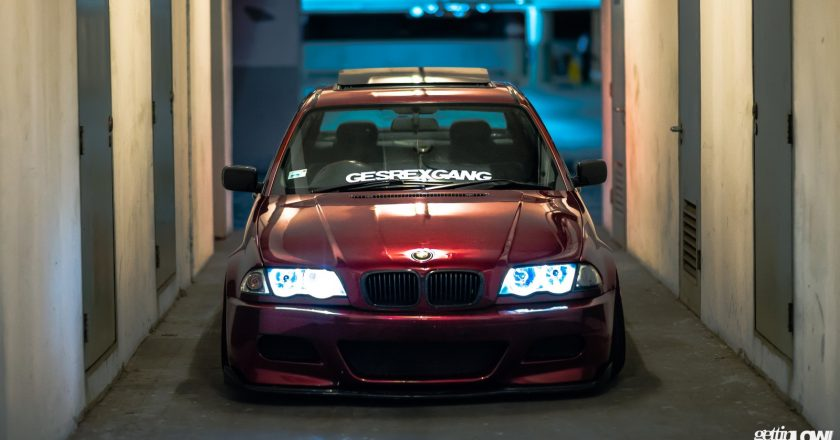 Dendy Apriyandi: Bagged BMW E46-318i