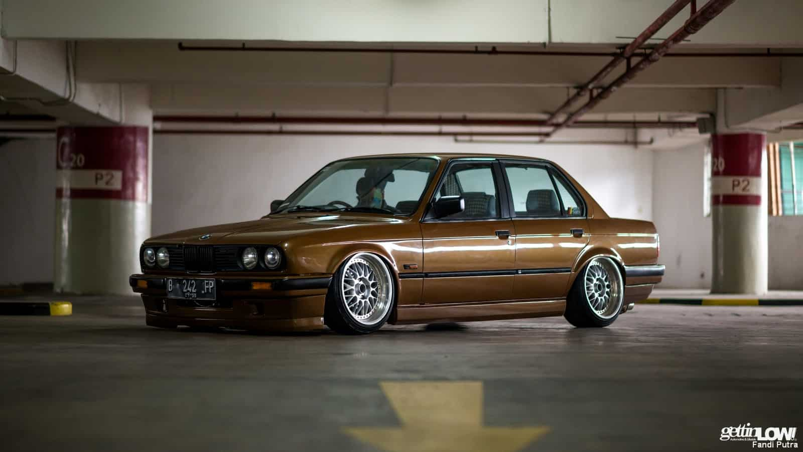 gettinlow tataq andhika bagged 1991 bmw 318i e30 m40. Black Bedroom Furniture Sets. Home Design Ideas