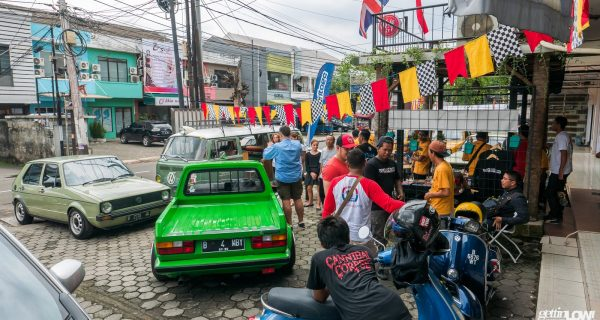 VW GOLF MK1 Indonesia's 5th Anniversary