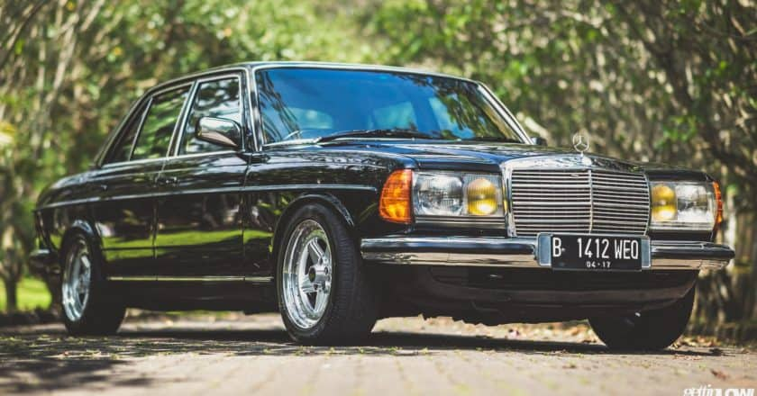 Daned Soedjito: 1986 Mercedes-Benz W123-280E on AMG Penta