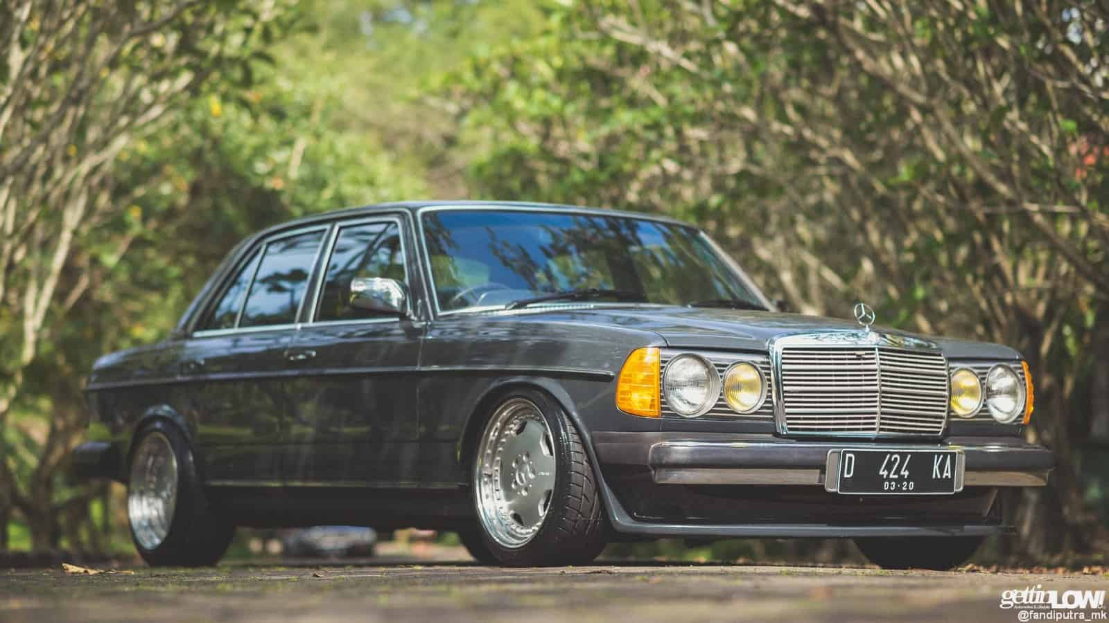 Dimas' 1982 Mercedes-Benz W123 2.8l with AMG Hammer