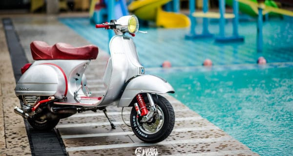 BimaBunch's fully restored 1978 Piaggio Vespa PX MK1
