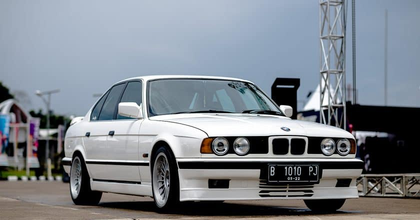 Andre Irawan's 1990 BMW E34 - 5 Series on ALPINA