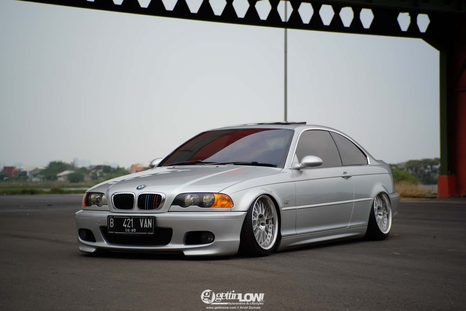 Arvel Dumais' BMW E46-328CI on Work VS-XX