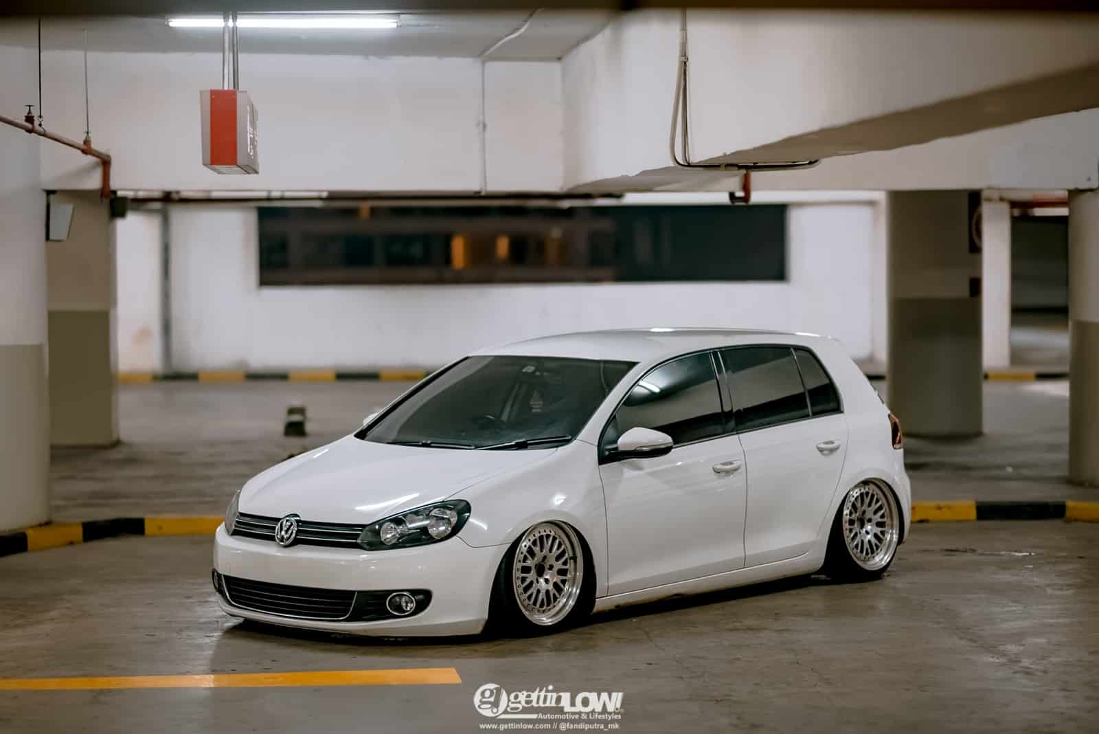 Ridho Seftiano Bagged Volkswagen Golf MK6