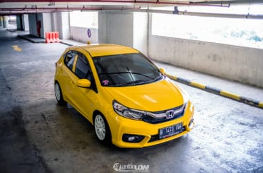 Street Racing Look at Aditya's All New Honda Brio 2018