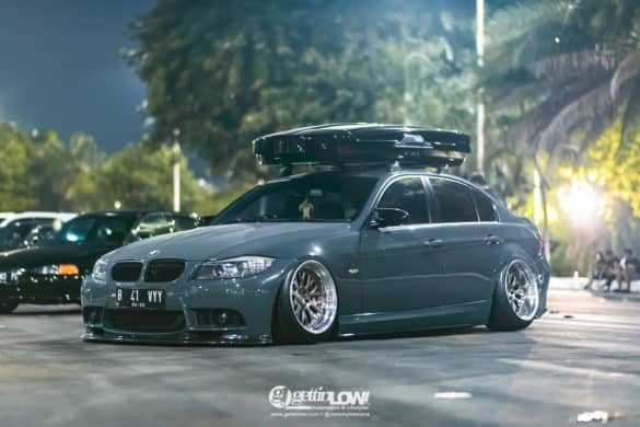 Bagged 2012 BMW 320i (E90 LCI)