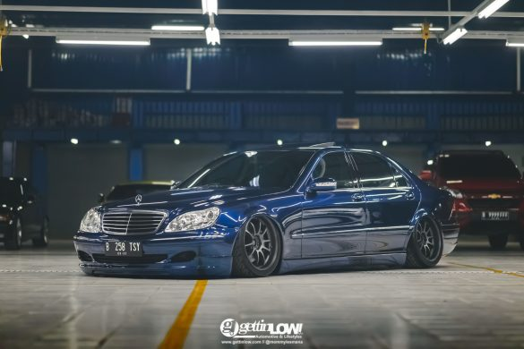 Tyo's 2003 Mercedes-Benz W220-S350 on Advan RZ-DF 19inch