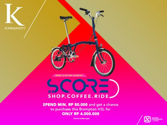 PROGRAM SCORE RAFFLE at MALL KUNINGAN CITY